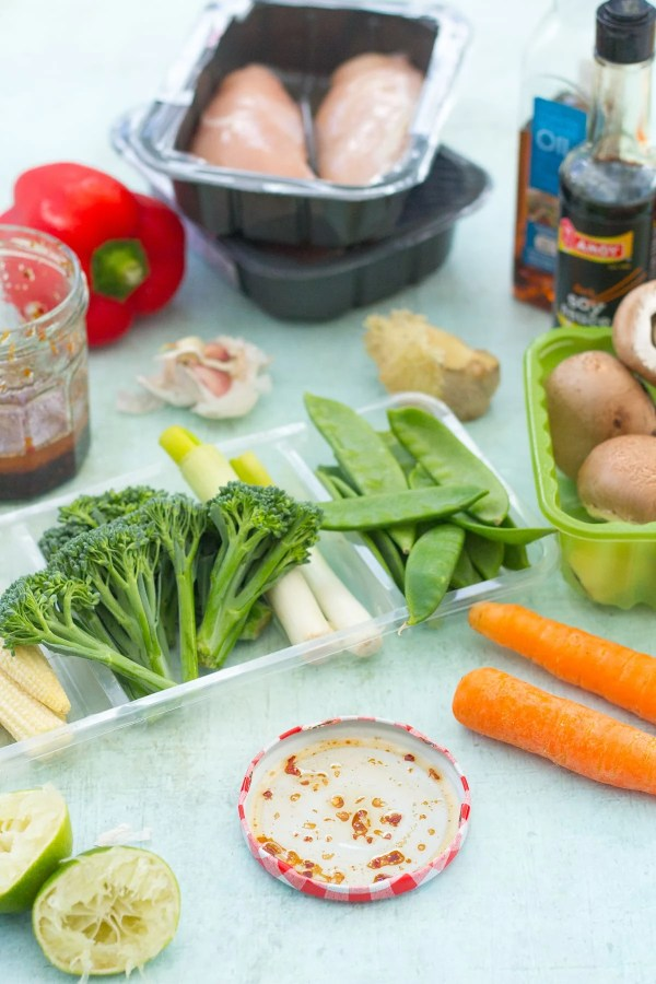 Easy Homemade Chicken Stir Fry Ingredients