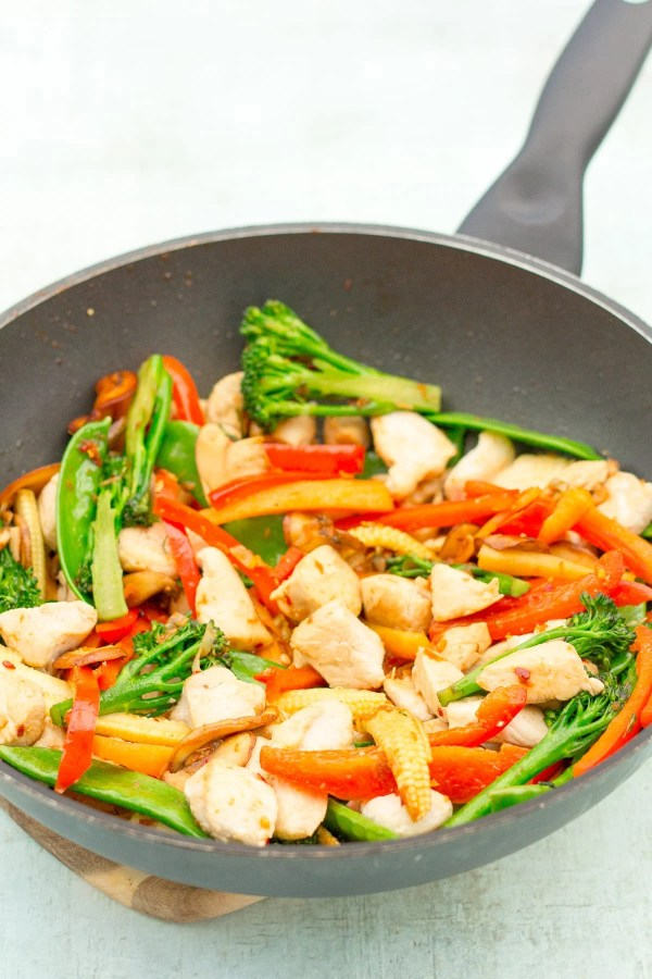 Easy Homemade Chicken Stir Fry