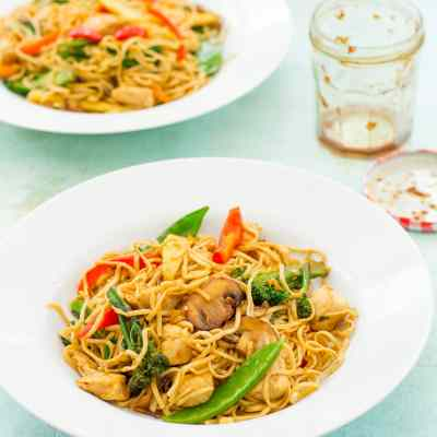 Easy Homemade Chicken Stir Fry