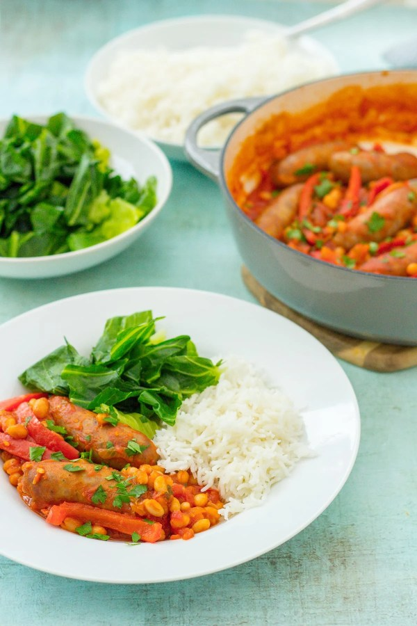 Easy One Pot Sausage Casserole