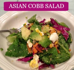 Asian Cobb Salad (No Boring Salads Here!)