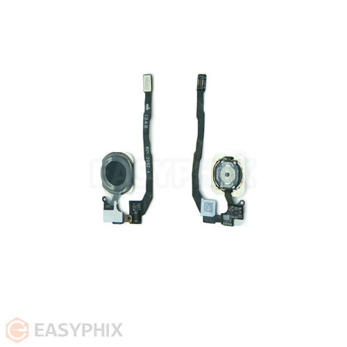 iPhone 5S Home Button And Flex Cable Full Assembly [Black]