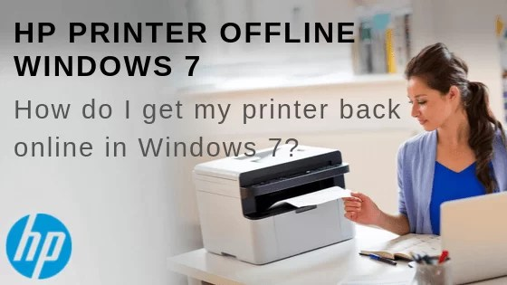 hp printer offline windows 7