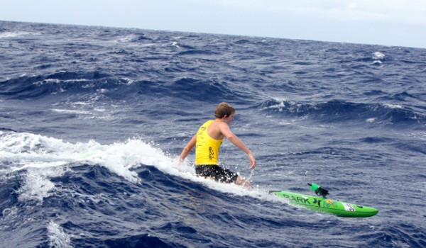 Jack Bark Molokai Paddle - EasyReader - Jim Caldwell Redondo Beach