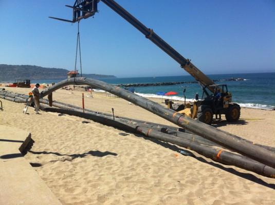 Redondo Beach dredge at Topaz