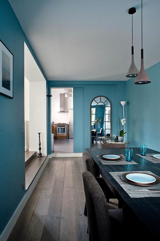 Storie di case blu e turchese da Parigi  easyrelooking