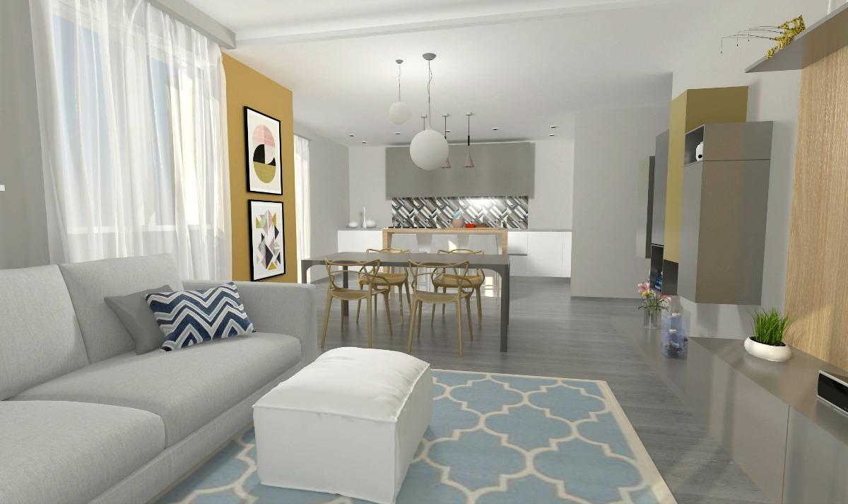 Come Arredare Un Open Space Cucina E Soggiorno La Casa Di