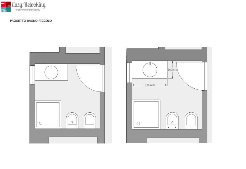 Progetto ingresso e bagni della villa a Trento il risultato  easyrelooking