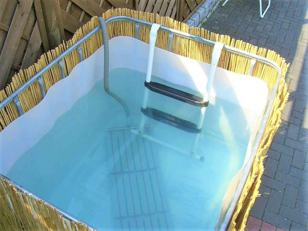IBC Tote Hot Tubs  DIY PersonalSized Fun or Pure Fancy