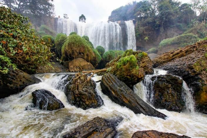 easy rider dalat to mui ne elephant waterfall