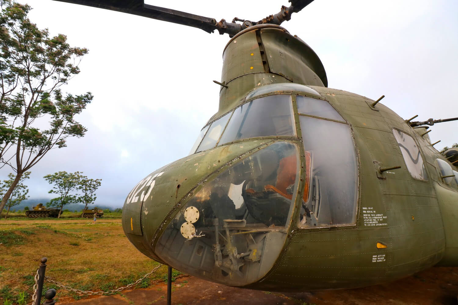 Vietnam War Sites Khe San Army Base Apache Helicopter