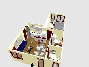 progettazione appartamento roma vista aerea