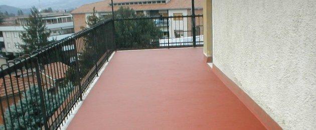 impermeabilizzazione terrazzo con resina