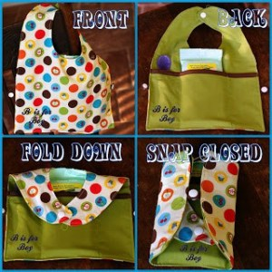 fold n go travel bib