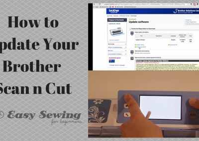 How to Update Your Brother ScanNCut