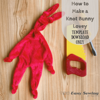Mini Knot Bunny Template only Download