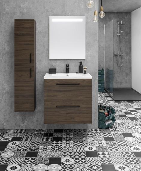 un lavabo de salle de bain