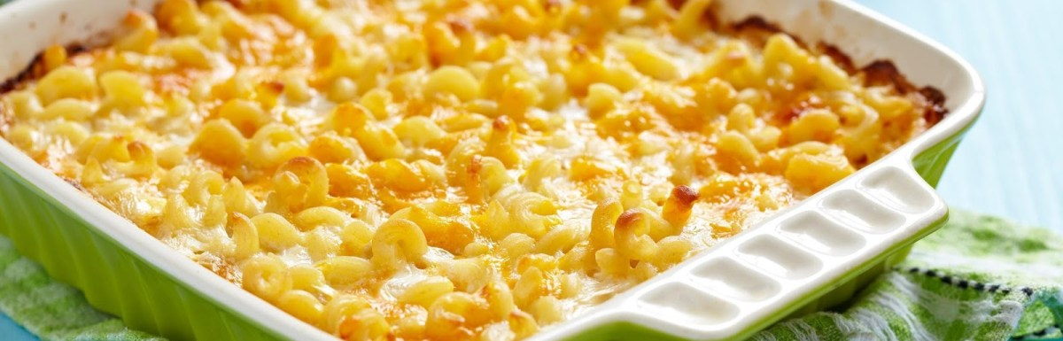 3-Cheese Baked Macaroni and Cheese Recipe - Easy Soul Food Recipes