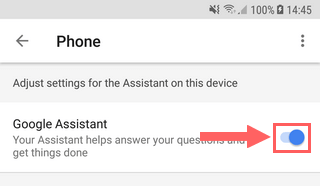 How to disable Google Assistant on a Samsung Galaxy (Android 7/8/9)