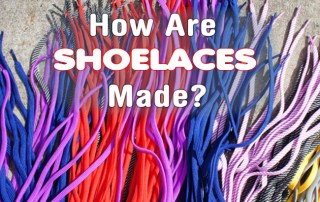 How are shoelaces made