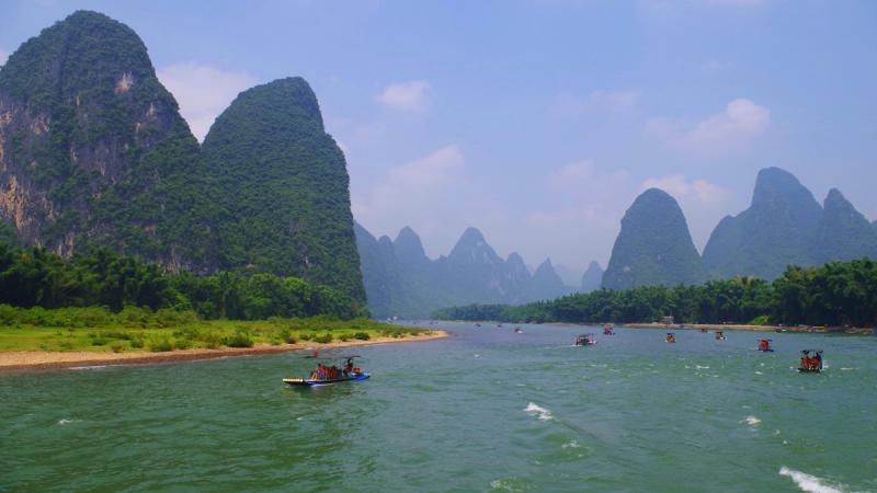Yangshuo Li River Cruise trips