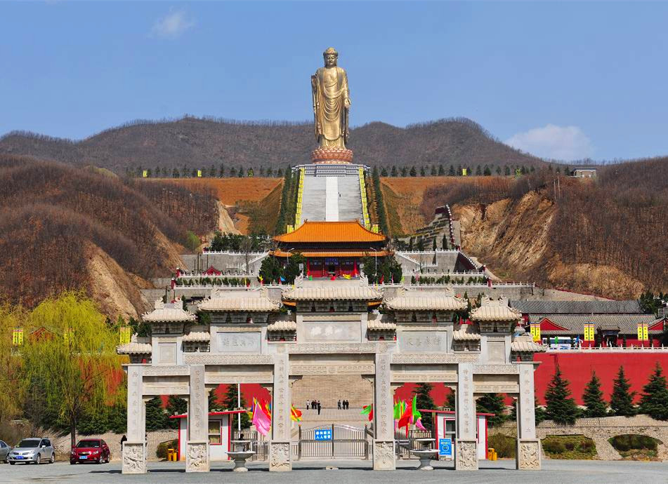 The Spring Temple Buddha