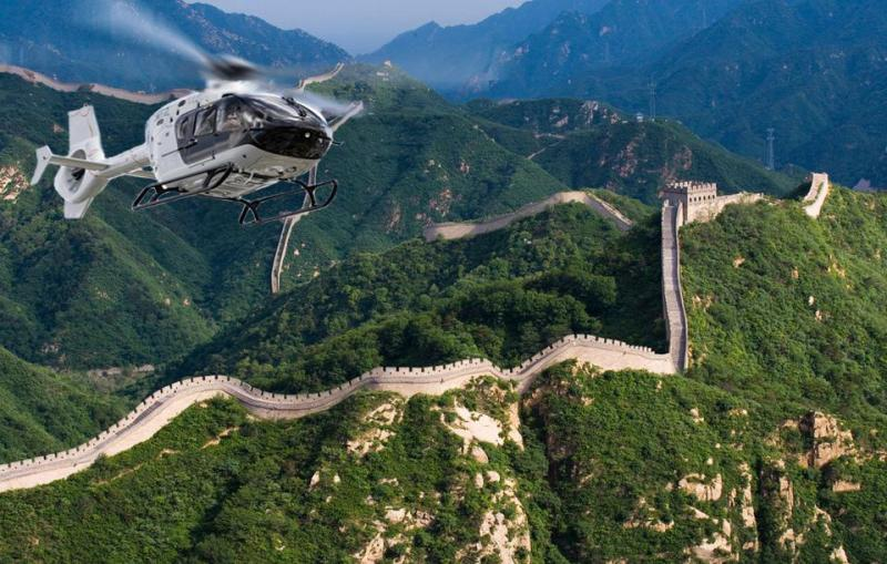 Great Wall Helicopter Tour