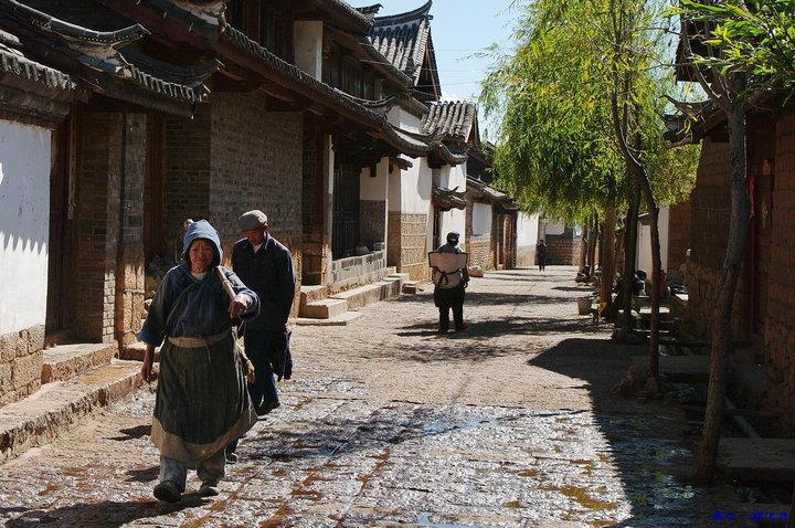 Baisha old town Yunnan