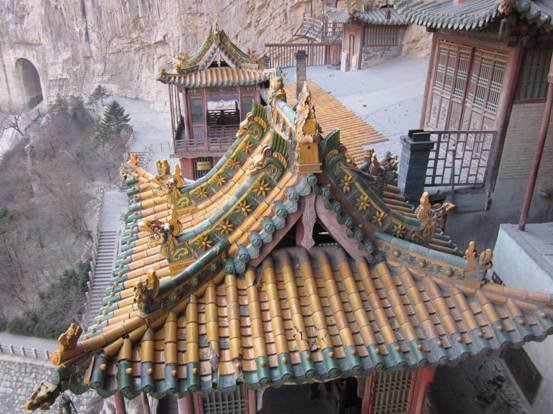 Hanging Temple of Mount Heng, Datong, Shanxi