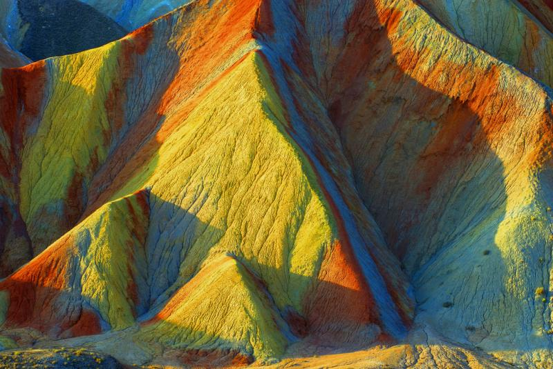 Colorful Danxia Landform in Zhangye