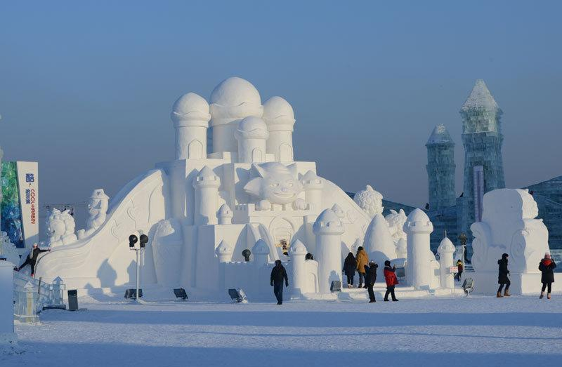 China winter holiday to Harbin