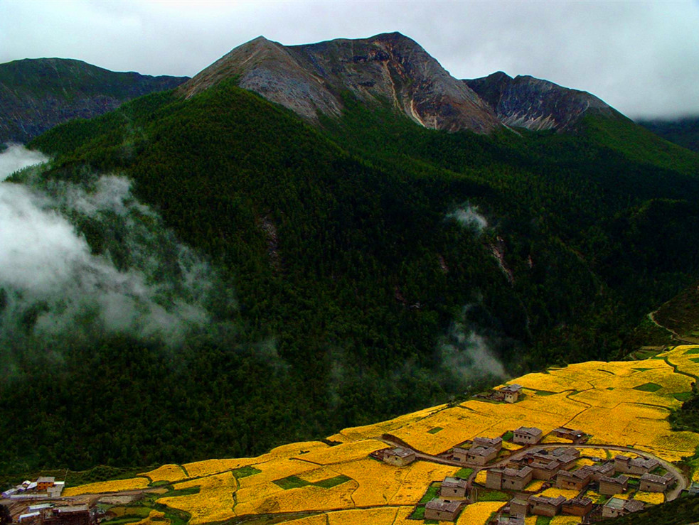 Holy Mountain in Daocheng Yading