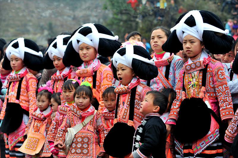 Changjiao Miao Girls