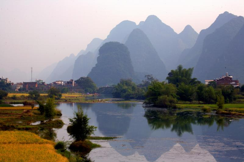 Guilin Yangshuo Yulong River trips