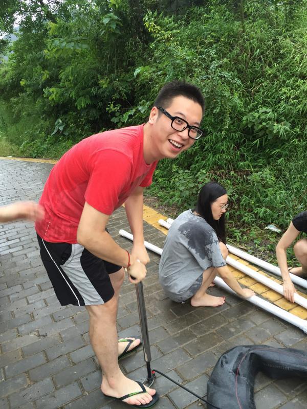 Outdoor activities in Yangshuo China
