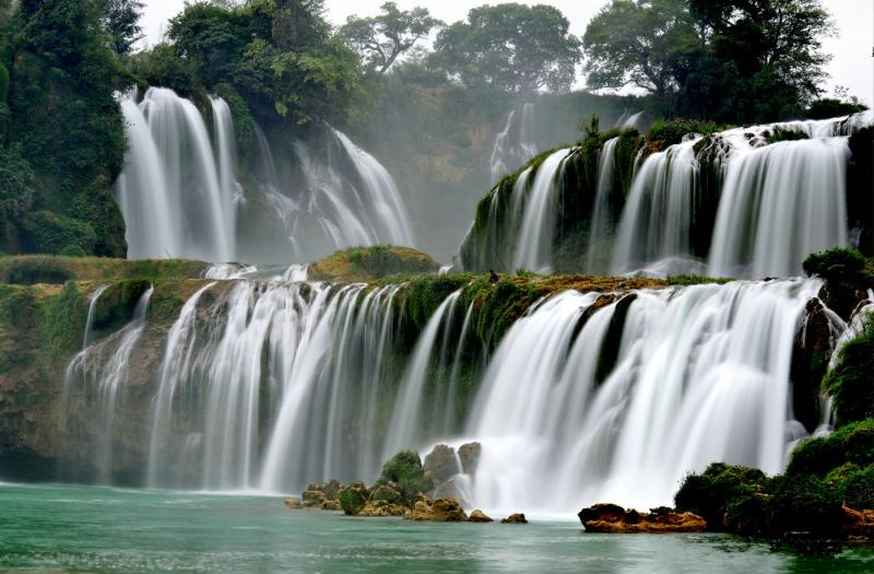 China waterfall tours