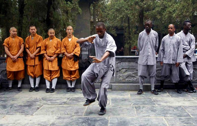 Kung Fu school in China