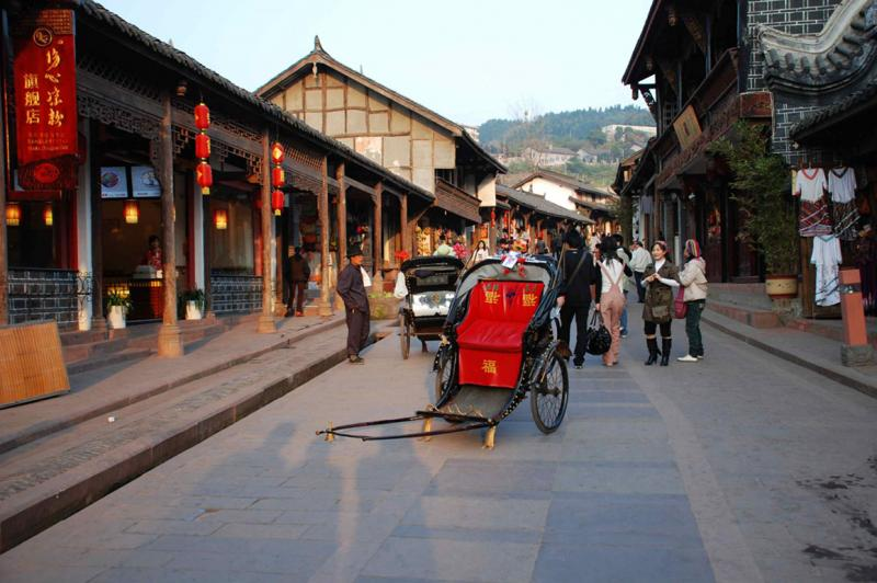 China ancient towns exploration