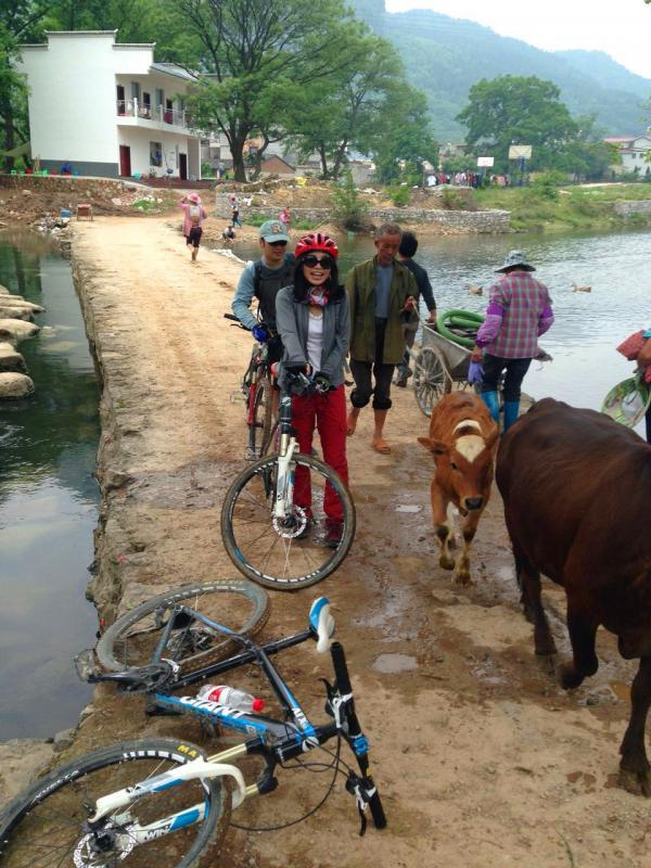 China Guilin biking