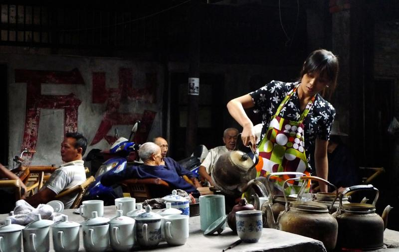 Sichuan Tea Culture Teahouses in Chengdu  Easy Tour China