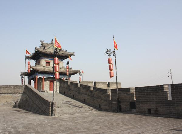 Ancient City Wall, Xian
