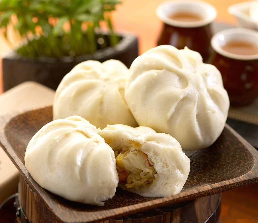 Chinese steamed stuffed bun