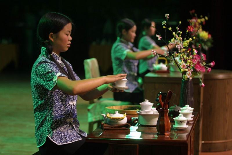 Chinese Kung Fu Tea Ceremony