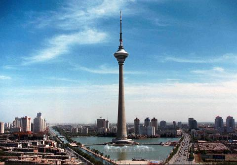 Tianjin TV Tower Tianjin Attractons China Travel Guide  Easy Tour China