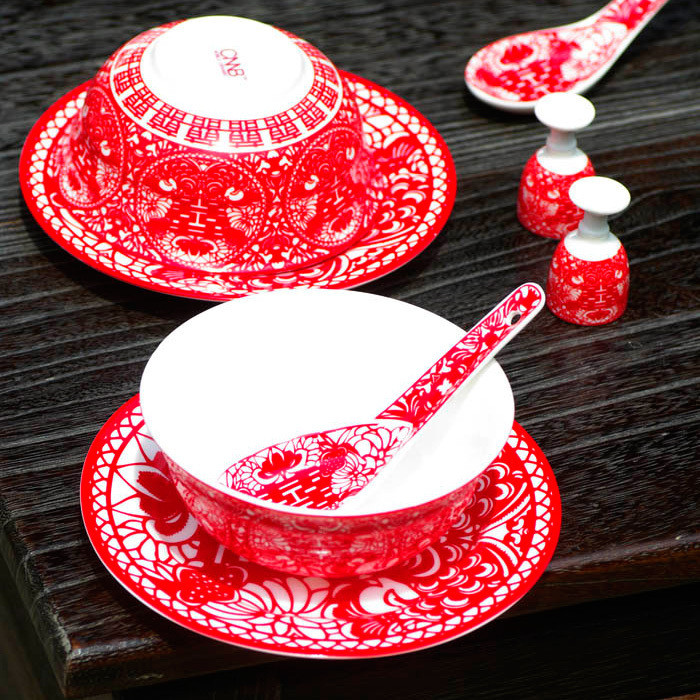 Chinese wedding cups