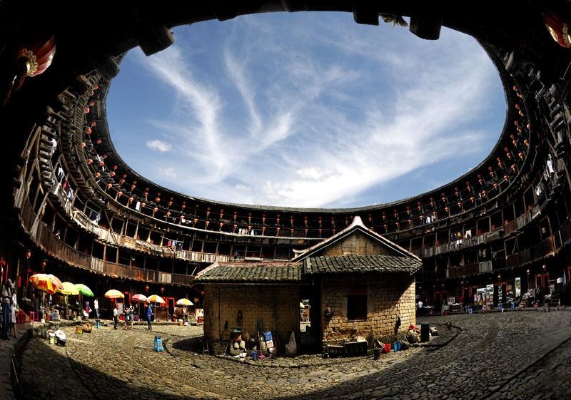 Fujian tulou vacation