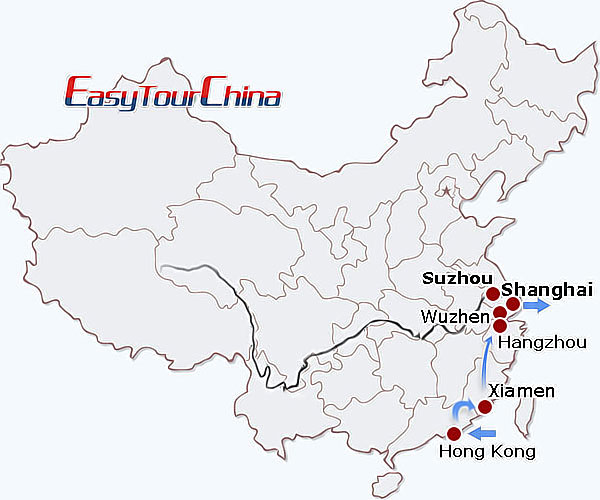 13-day Eastern China Perspective, Holidays to East China
