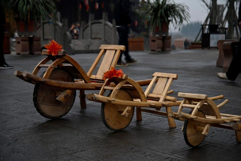 trip to Chengdu ancient towns