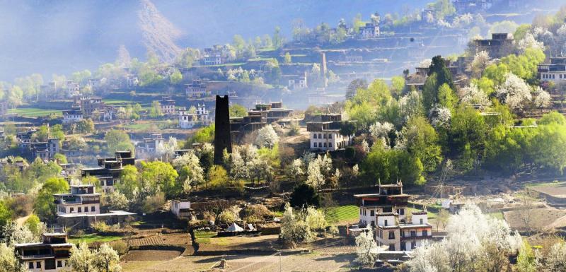 Trip to Danba Sichuan China