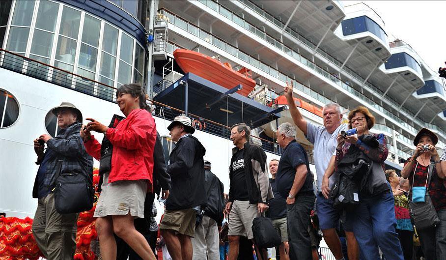 Hong Kong's New Cruise Terminal Opens
